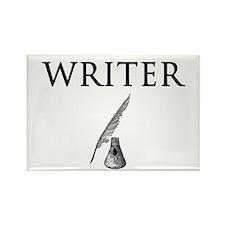 Writer Rectangle Magnet