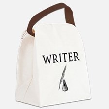 Writer Canvas Lunch Bag