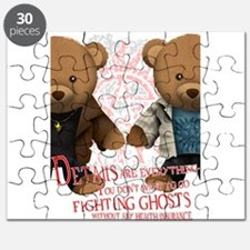 Fighting ghosts Puzzle