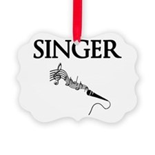 Singer Ornament