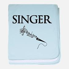 Singer baby blanket