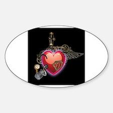 Steampunk Heart Decal