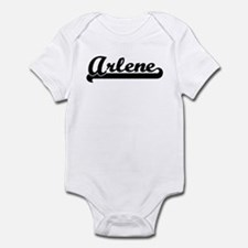 Black jersey: Arlene Infant Bodysuit
