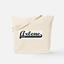 Black jersey: Arlene Tote Bag
