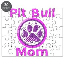 Pit Bull Mom Puzzle