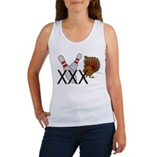 Bowling Turkey Women's Tank Top