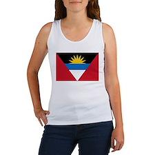 Antigua and Barbuda flag Women's Tank Top