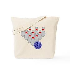 Duckpin Bowling Tote Bag