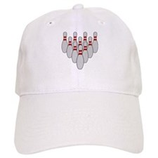 Ten Pin Bowling Baseball Cap