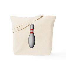 Bowling Pin Tote Bag