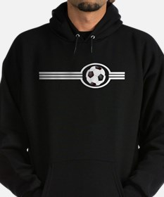 Soccer Ball And Stripes Hoody