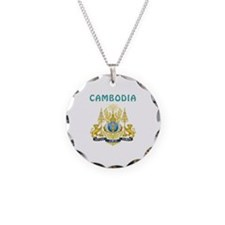 Cambodia Coat of arms Necklace