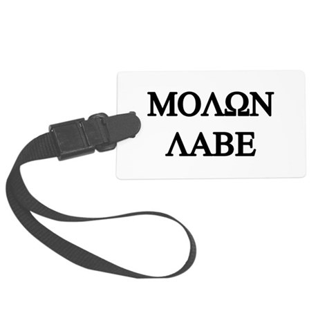 MOLON LABE Large Luggage Tag
