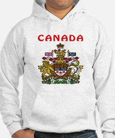 Canada Coat of arms Hoodie