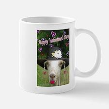 Unique Goats at valentines Mug