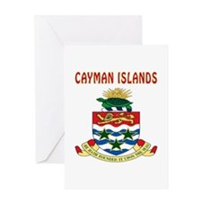 Cayman Islands Coat of arms Greeting Card