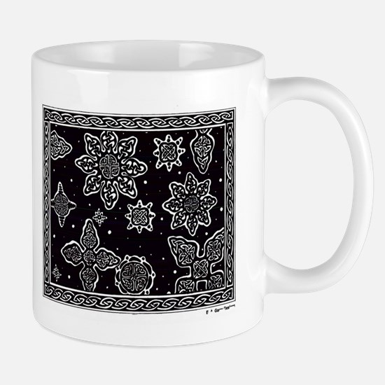 Celtic Snowflakes Mug