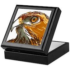 Hawk Keepsake Box