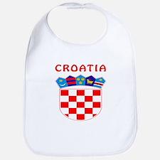 Croatia Coat of arms Bib