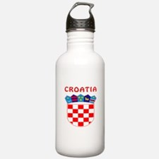 Croatia Coat of arms Water Bottle