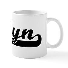 Black jersey: Joslyn Coffee Mug