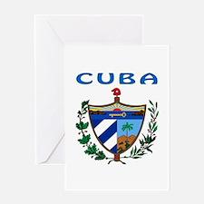 Cuba Coat of arms Greeting Card