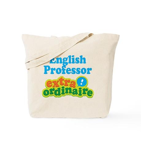 English Professor Extraordinaire Tote Bag