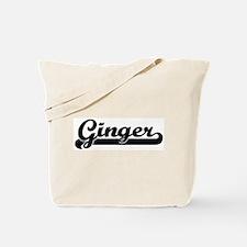 Black jersey: Ginger Tote Bag