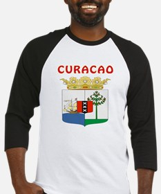 Curacao Coat of arms Baseball Jersey