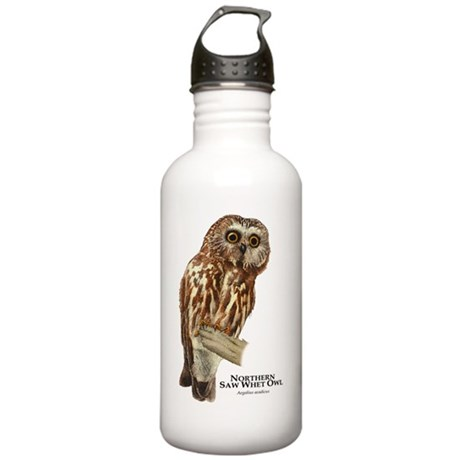 Northern Saw-Whet Owl Stainless Water Bottle 1.0L