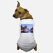 A Norwegian Fjord Scene Dog T-Shirt