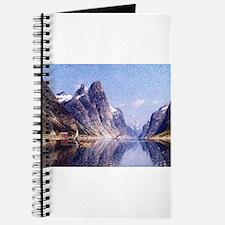 A Norwegian Fjord Scene Journal