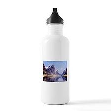 A Norwegian Fjord Scene Water Bottle