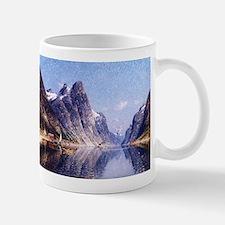A Norwegian Fjord Scene Mug
