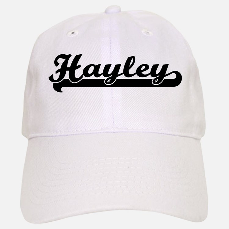 Black jersey: Hayley Baseball Baseball Cap