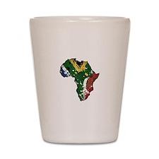Afrika Graffiti Shot Glass