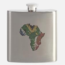 Afrika Graffiti Flask