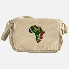 Afrika Graffiti Messenger Bag