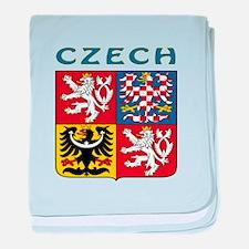 Czech Coat of arms baby blanket