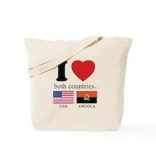 USA-ANGOLA Tote Bag