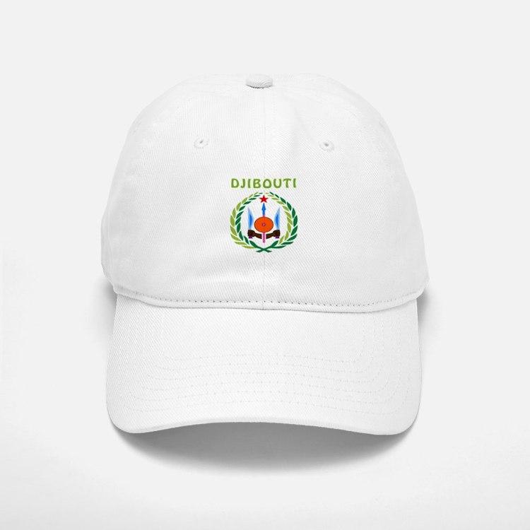 Djibouti Coat of arms Baseball Baseball Cap