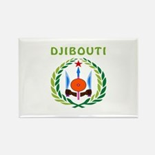 Djibouti Coat of arms Rectangle Magnet