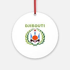 Djibouti Coat of arms Ornament (Round)