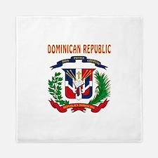 Dominican Republic Coat of arms Queen Duvet