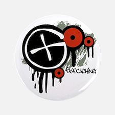 """Geocaching Vector Design 3.5"""" Button"""