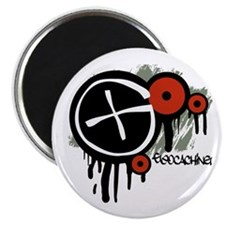 "Geocaching Vector Design 2.25"" Magnet (10 pack)"