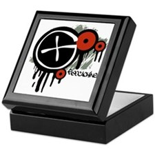 Geocaching Vector Design Keepsake Box