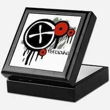 Geocaching Vector Design Keepsake Box