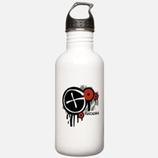 Geocaching Vector Design Water Bottle