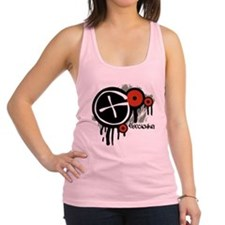 Geocaching Vector Design Racerback Tank Top